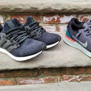 Adidas Ultraboost Nike Odyssey React Bundle